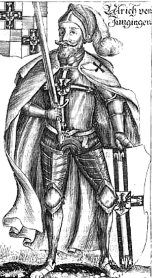 Ulrich von Jungingen - 17th century depiction by Christoph Hartknoch
