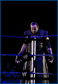 The Undertaker en su personaje de Ministry of Darkness