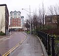 Unfinished town centre flats Astley gate - panoramio.jpg