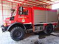 Unimog U4000 fire engine of the Fire sub-station of Apollonia, Pyrosvestiko klimakio Apollonion, pic3.JPG