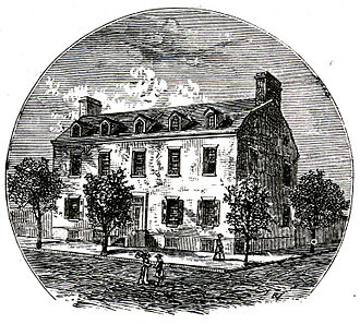 Union College - The Schenectady Academy (Old Union College), 1795