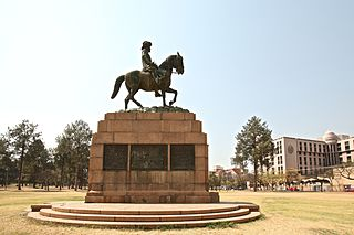 Equestrian Statue of Louis Botha