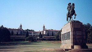 Deputy President of South Africa - The Union Buildings in Pretoria is the seat of the South African Presidency.