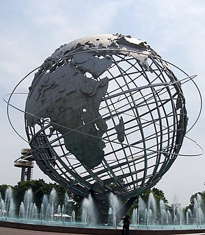 "The Unisphere, attributed to ""uribe""..."