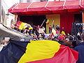 United Belgium Brussels demonstration 20071118 DMisson 00128 parc Cinquantenaire flag.jpg