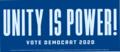Unity Is Power! bumper sticker.tif
