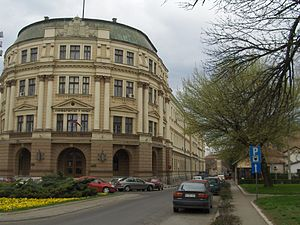 Treaty of Niš (1914) - The Banovina building in Niš (which has been part of the University of Niš since 1966) where the treaty was signed