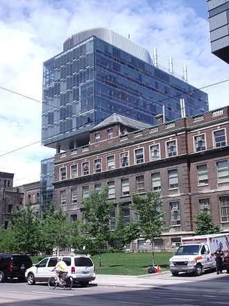 University of Toronto Faculty of Medicine - The Fitzgerald Building (foreground) and the Terrence Donnelly Centre for Cellular and Biomolecular Research
