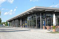 Unterföhring Bahnhof Stationsgebäude.JPG