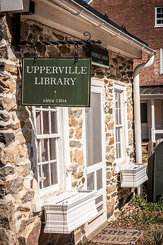 Upperville, Virginia - Image: Upperville Library 0032