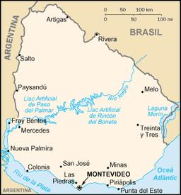 uruguay karta Fray Bentos – Wikipedia uruguay karta