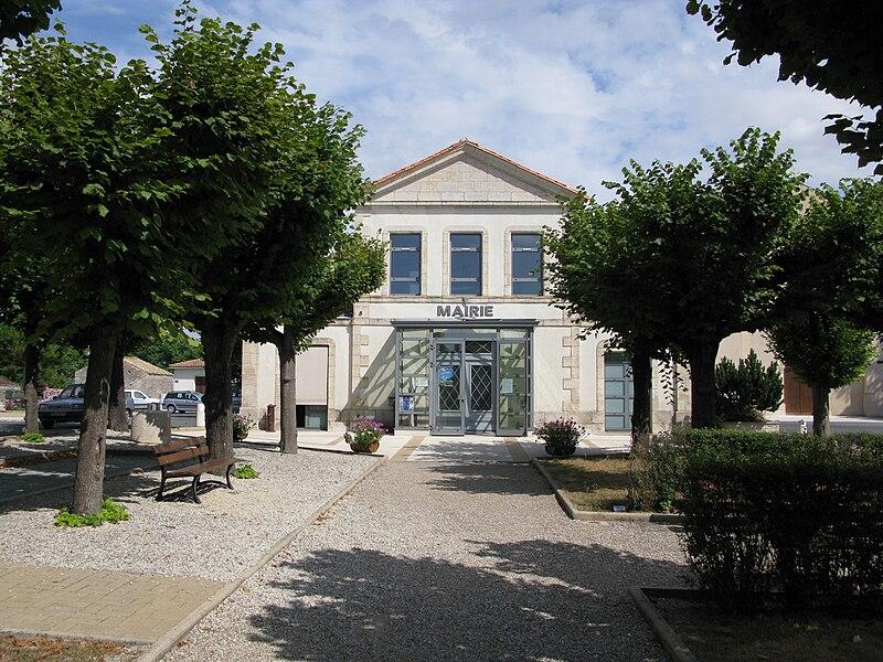 La mairie d'Usseau