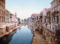 Utrecht - Oude Gracht en Viebrug 1900.jpg