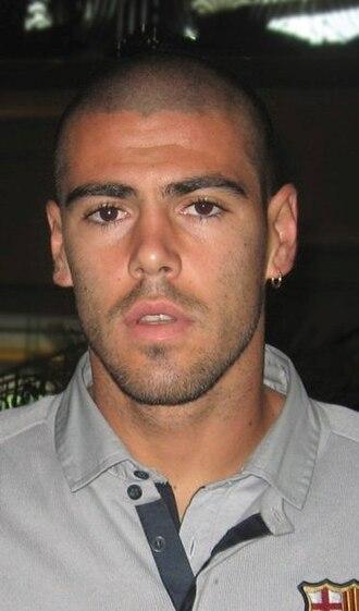 Víctor Valdés - Valdés in 2010