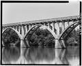 VIEW NORTH FROM COFFERDAM - Georgia-Carolina Memorial Bridge, State Highway 72, Elberton, Elbert County, GA HAER GA,53-ELBE.V,2-9.tif