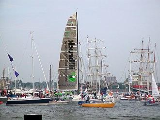 2001–02 Volvo Ocean Race - Illbruck Challenge in Kiel