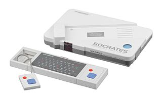 VTech Socrates educational home video game console