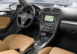 Deutsch: VW Golf VI Interieur