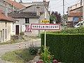 Vadelaincourt (Meuse) city limit sign.JPG