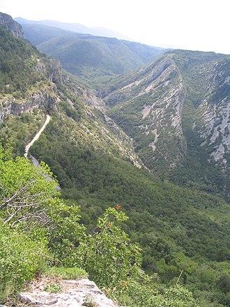 Rosandra Valley - The Rosandra Valley near Trieste, Italy