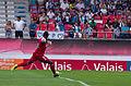 Valais Cup 2013 - OM-FC Porto 13-07-2013 - Brice Samba tirant un 6 mètres.jpg