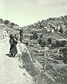 Valleys of Jehoshaphat and Hinnom. Siloam, general view. Approximately 1900 to 1920. matpc.00935.Left.II.jpg