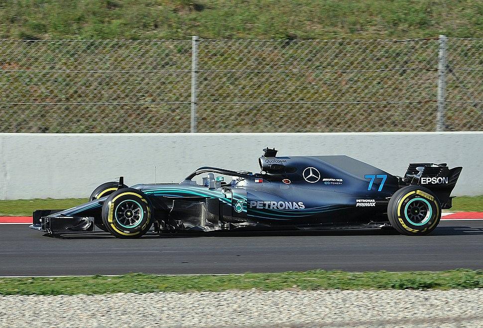Valtteri Bottas-Test Days Circuit Barcelona (3)