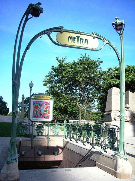 Fichier:Van Buren Street station entrance.jpg