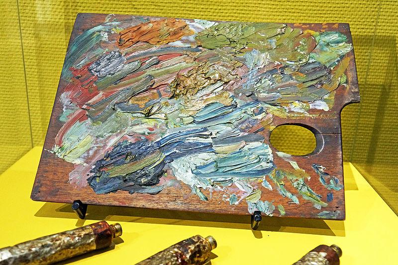 File:Van Gogh's Palette.jpg