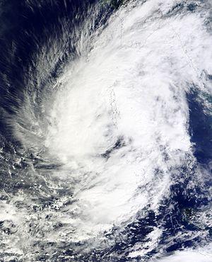 Cyclone Vardah - Vardah near Andaman and Nicobar Islands on December 8
