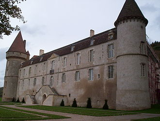 Sébastien Le Prestre de Vauban - Château de Bazoches, acquired by Jacques Le Prestre in 1570, purchased by Vauban in 1675