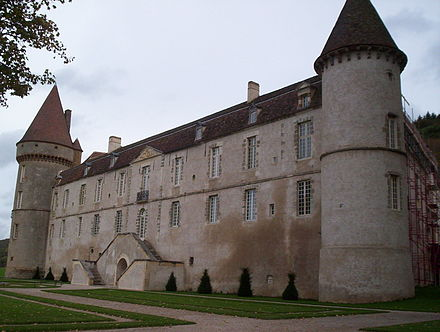 Chateau de Bazoches, acquired by Jacques Le Prestre in 1570, purchased by Vauban in 1675 Vauban chateau de Bazoches (Nievre).JPG