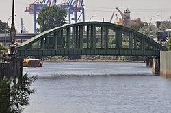 Veddelkanalbrücke (Hamburg-Kleiner Grasbrook).Ostseite.1.14516.ajb.jpg