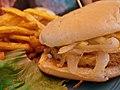 Veggie burger with fried onions cc flickr user bradley j.jpg
