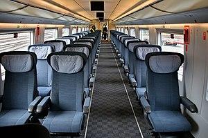 AVE Class 103 - Image: Velaro e preferente car