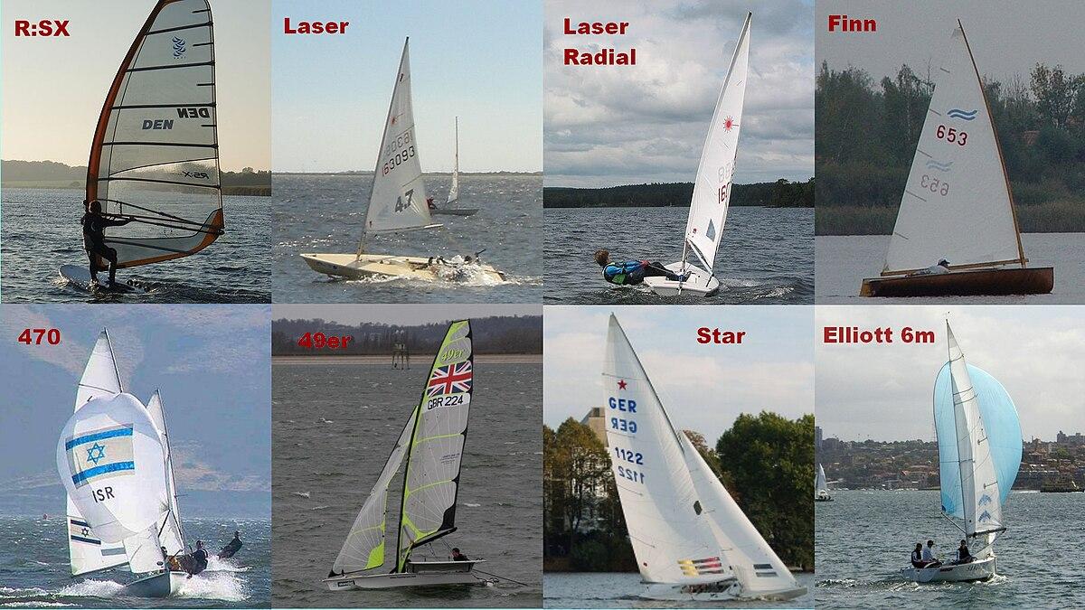 Olympic Sailing Classes Wikipedia