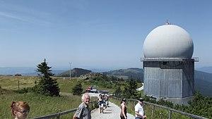Velký Javor - zařízení na vrcholu I.JPG
