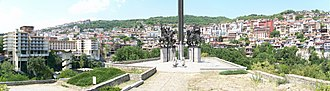 Asen dynasty - Image: Veloko Tarnovo Panorama