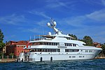 Venice city scenes - on the Grand Canal - more than just your weekend runabout!! - private yachts (11002311516).jpg
