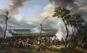 War of the Sixth Coalition - Battle of Hanau.