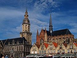 Veurne market square