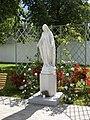Viļānu Sv. Miķeļa erceņģeļa Romas katoļu baznīca, Skulptūra pagalmā, Viļāni, Viļānu novads, Latvia - panoramio.jpg