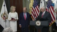 File:Vice President Pence Participates in a Swearing-In Ceremony for Secretary of Commerce Wilbur Ross.webm