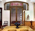 Victor horta, boiserie e mobilio dell'hotel aubecq a bruxelles, 1902-04, 02,2.JPG