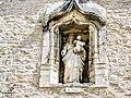 Vierge à l'Enfant. façade de l'ancienne maison forte.jpg