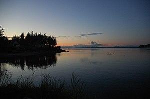 Lummi Island - View from Lummi Island.