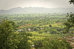 Pailin countryside from Phnom Yat