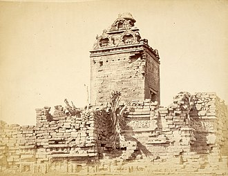 Gop Temple - Image: View from the south east of the old temple at Gop, Gujarat