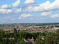 View north from Christ Church belfry, Cricklade Street, Swindon (1) - geograph.org.uk - 347252.jpg