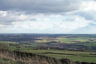 Bradfield, South Yorkshire - Image: View of the Loxley Valley with Stannington in the background and Sheffield in the rear. geograph.org.uk 714045